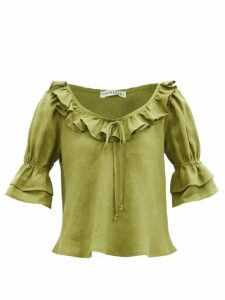 A.p.c. - Cyd Cotton Jersey T Shirt - Womens - Pink