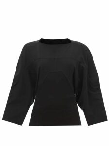 Etro - Floral-print Ruffled Silk-chiffon Blouse - Womens - Yellow Multi