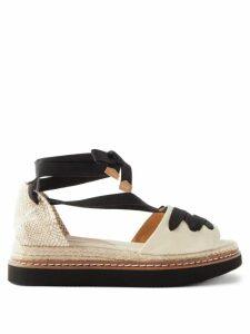 Balmain - Double Breasted Crepe Blazer Dress - Womens - Black
