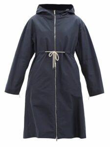 Le Sirenuse, Positano - Vanessa Printed Cotton-poplin Kaftan - Womens - Blue White