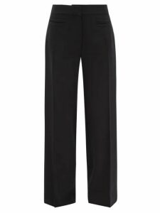 Balenciaga - Logo Tab Ribbed Sweater - Womens - Blue