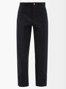 By Walid - Firas French-crochet Cotton Hat - Womens - Brown