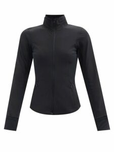 Anaak - Lago Drawstring-neck Cotton Blouse - Womens - Ivory
