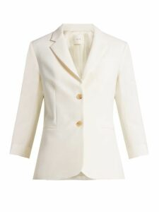 The Row - Schoolboy Wool-blend Blazer - Womens - White