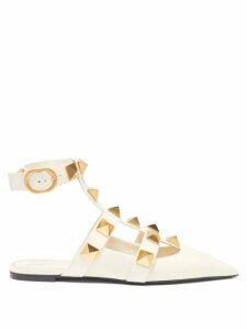 Ace & Jig - Noelle Striped Tie-waist Cotton Dress - Womens - Green
