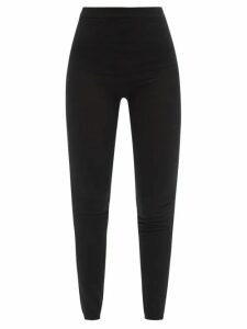 Alexander Mcqueen - Draped Crepe Dress - Womens - Dark Pink