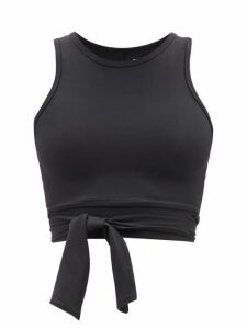 Loup Charmant - Ottranto Puff-sleeve Cotton Dress - Womens - Green