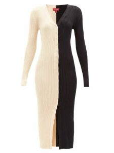 Christopher Kane - Latex Strap Patent Leather Mules - Womens - Black