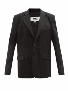 Kassl Editions - Point-collar Cotton-blend Trench Coat - Womens - Beige