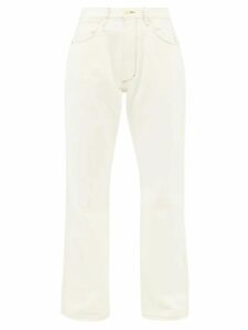 Batsheva - Floral-print Cotton Skirt - Womens - Cream Multi