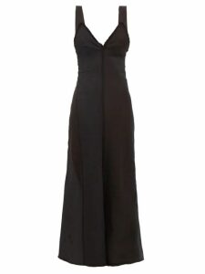 Ganni - Floral-print Georgette Maxi Skirt - Womens - Black Multi