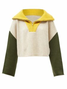 Erdem - Clementine Floral Print Silk Voile Gown - Womens - Pink Print