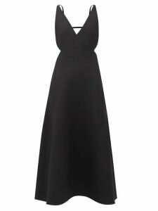 Acne Studios - Bolzter Suede And Mesh Trainers - Womens - Yellow Multi