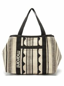 Frame - Pleated Striped Cotton Shirt - Womens - Light Blue