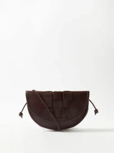 Borgo De Nor - Corin Lip & Floral Print Cotton Poplin Midi Dress - Womens - Yellow Multi