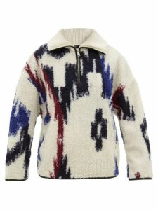 Dodo Bar Or - Hattie Floral-print Cotton Wide-leg Trousers - Womens - Green Print