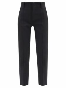 Helmut Lang - Flight Cotton Blend Twill Trousers - Womens - Black