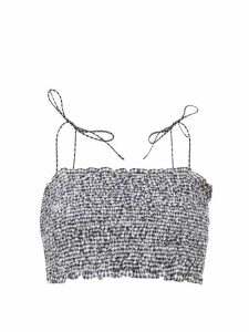 Valentino - Rockstud Block Heel Leather Sandals - Womens - Nude