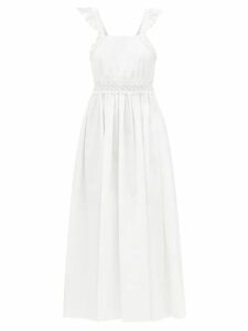 Three Graces London - Julienne Silk Shirtdress - Womens - Green