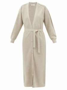 Valentino - Chiffon-trimmed Ribbed-knit Sweater - Womens - Black