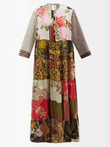 Staud - Cabana High-rise Vegetable-print Linen Skirt - Womens - Ivory Multi
