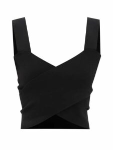 Diane Von Furstenberg - Clarissa Lemon-print Wrap Cotton-blend Skirt - Womens - Yellow Multi