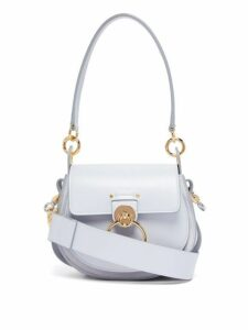 Chloé - Tess Small Leather Cross Body Bag - Womens - Light Blue