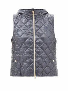 Le Sirenuse, Positano - Giada Printed Cotton Muslin Kaftan - Womens - Blue Multi
