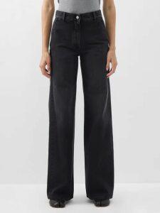 Sea - Leo Leopard Print Cotton Trench Coat - Womens - Leopard