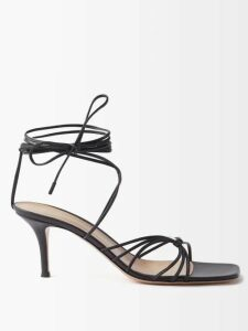 Aquazzura - Saint Honore 70 Pointed-toe Suede Boots - Womens - Tan