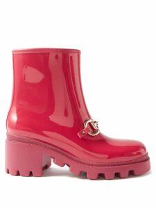 Le Sirenuse, Positano - Kate Fishtail-print Cotton Top - Womens - Blue Multi