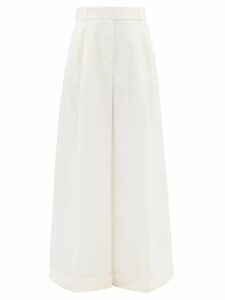 Le Sirenuse, Positano - Elisa Print Cotton Poplin Midi Shirtdress - Womens - Blue Multi