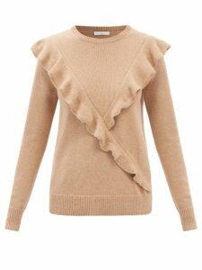 A.p.c. - Bettina Striped Cotton Shirt - Womens - Green Multi