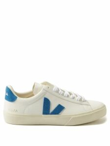 Ganni - Gingham Wrap-around Crepe Top - Womens - Black White