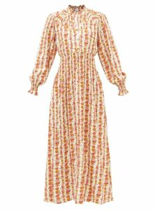 Proenza Schouler - Tie-neck Cotton-voile Blouse - Womens - Black