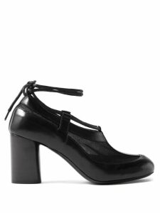 Marni - Roll-neck Mohair-blend Sweater - Womens - Blue