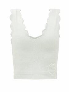 Le Sirenuse, Positano - Julia Printed Cotton Poplin Maxi Dress - Womens - Green White