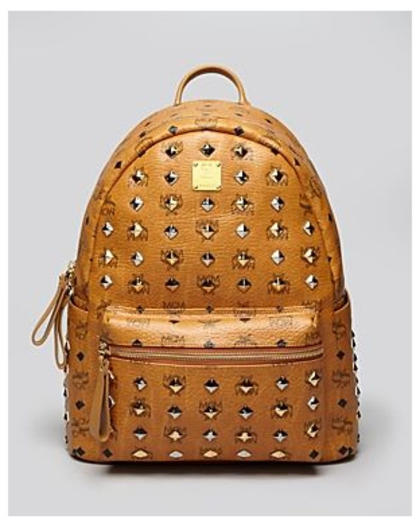 Mcm Backpack - Stark Medium All-Over Stud