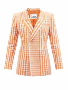 Ganni - Callie Crocodile-effect Leather Ankle Boots - Womens - Black Multi