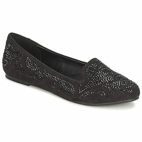 Moony Mood  LUDIA  women's Loafers / Casual Shoes in Black