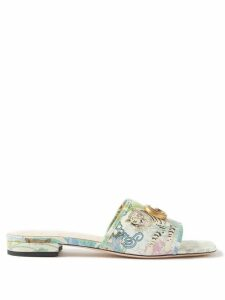 Valentino - Long-sleeved Ruffled Cotton Blouse - Womens - White