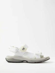 Adriana Degreas - Bacio Kisses-print Voile Mini Dress - Womens - Red White