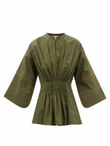 Givenchy - Lace-trimmed Velvet Camisole - Womens - Black