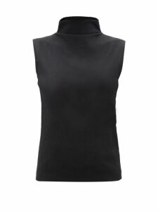 Paco Rabanne - Floral-print Satin Dress - Womens - Yellow Multi