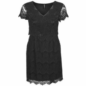 Naf Naf  LYJO  women's Dress in Black