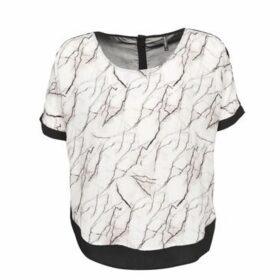 Naf Naf  LARBRE  women's T shirt in White