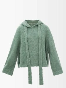 No. 21 - Inner Stripe Turned Up Tailored Trousers - Womens - Black