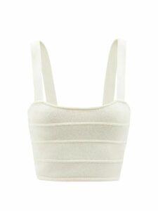 A.p.c. - Claudine Breton Striped Merino Sweater - Womens - Navy White