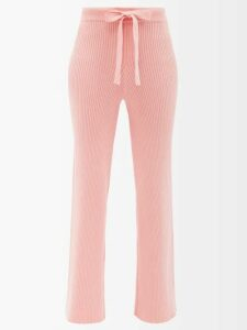 Redvalentino - Heart Embroidered Cotton Oxford Shirt - Womens - White Multi