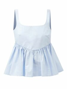 Nili Lotan - Montana Pleated Virgin Wool Twill Trousers - Womens - Camel